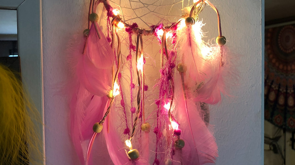dreamcatcher with lights