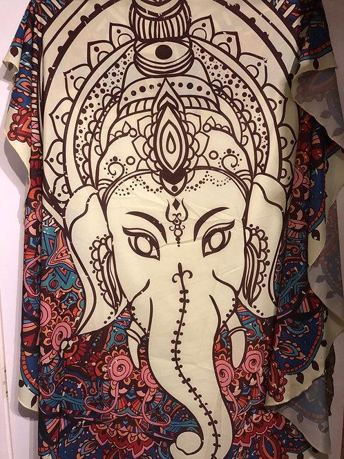 Spirituele doek Ganeshea olifant