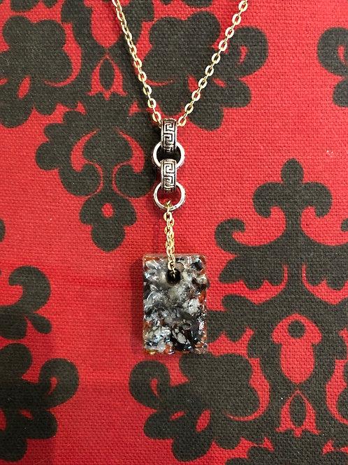 Rode Jasper  en tibitaanse zilver