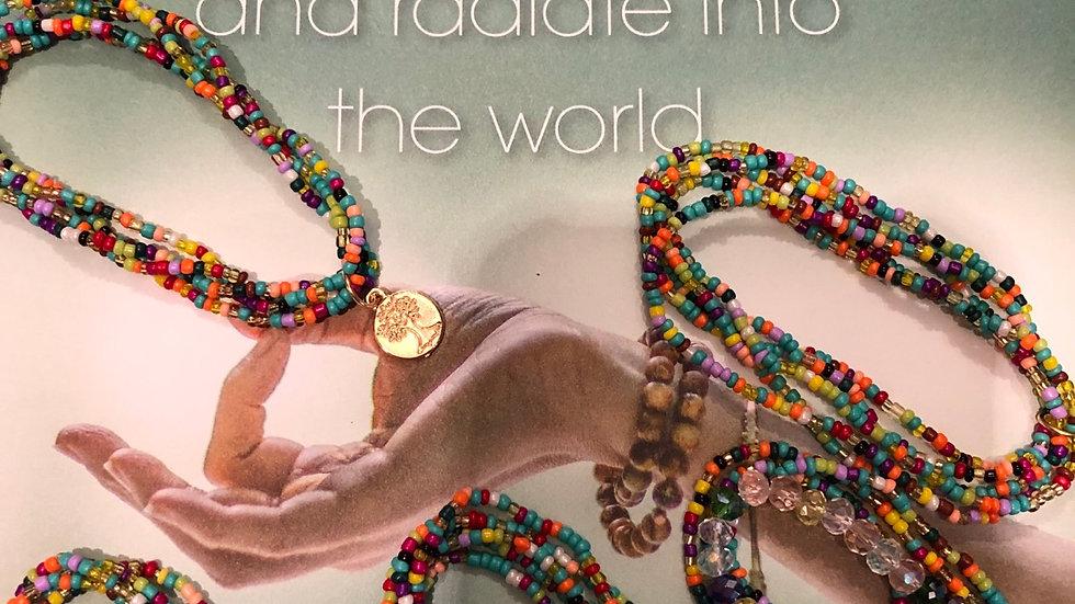 Kleurvolle armbandjes 3 stringen