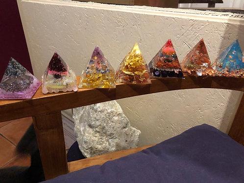 Organize pyramids: