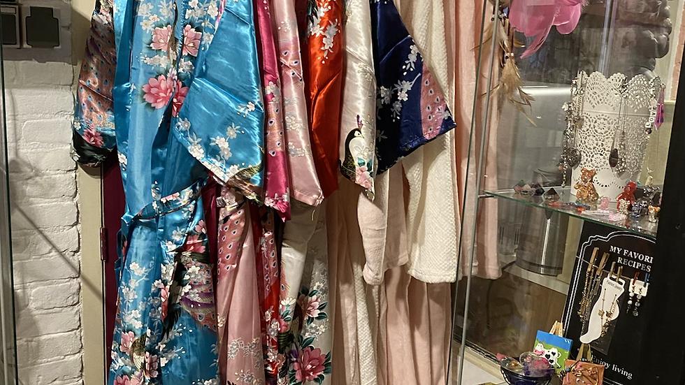 Chinese kimono zijde