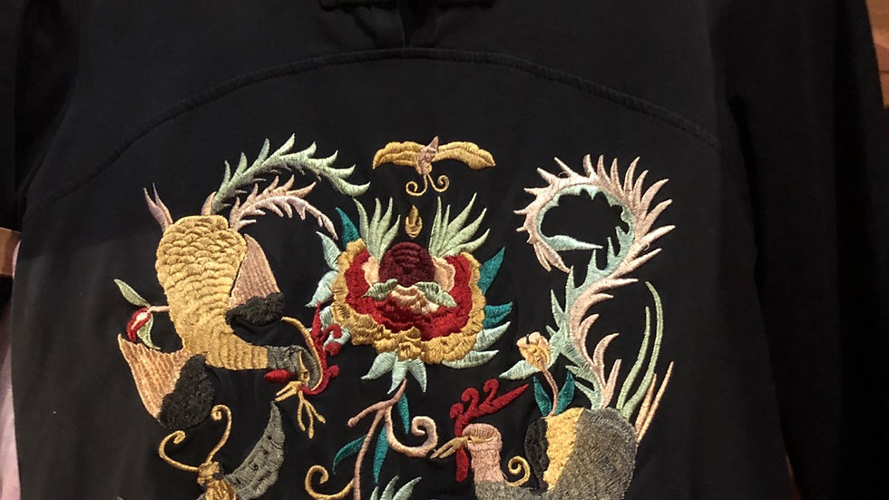 Chinese t- shirt 3/4 sleeve