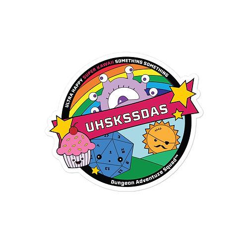 UHSKSSDAS Bubble-free stickers