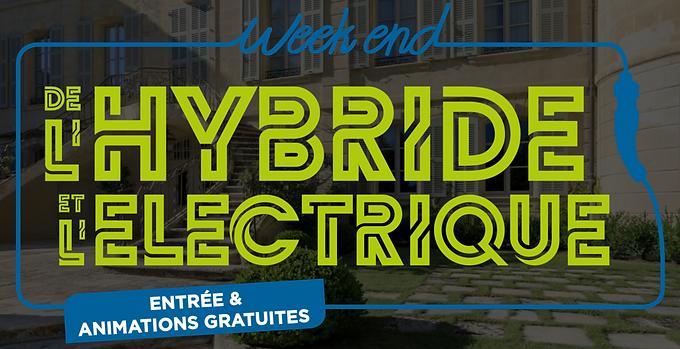 Week-end de l'hybride et de l'électrique