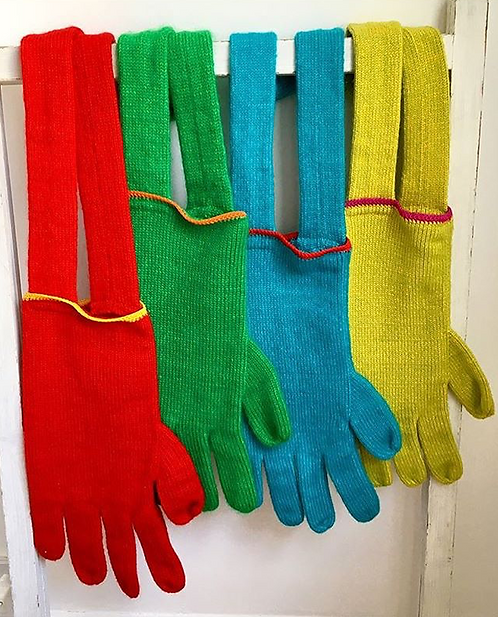 THE KNITTED HAND BAG