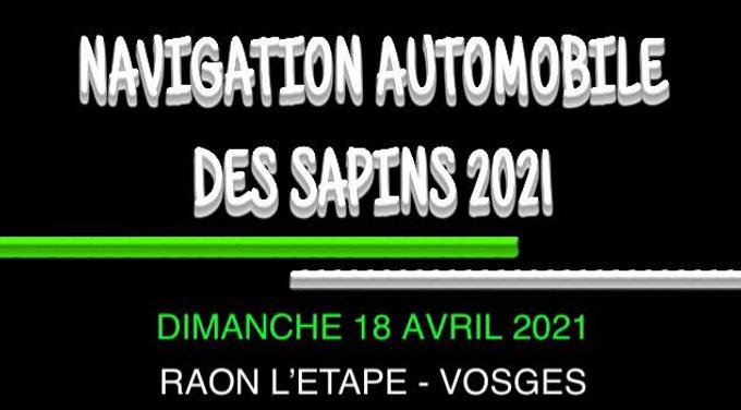 Navigation automobile des sapins 2021