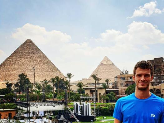 PSA turnaje - Egypt a USA