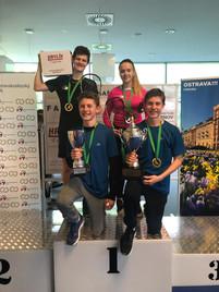 Vezeme 2 tituly a stříbro z MČR družstev juniorů a MČR U23