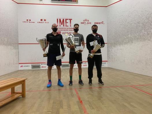IMET MSR mužov v squashi 2020