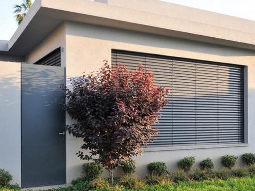 Τι να περιμένετε από την εγκατάσταση εξωτερικών περσίδων αλουμινίου σε ένα νέο κτίριο!
