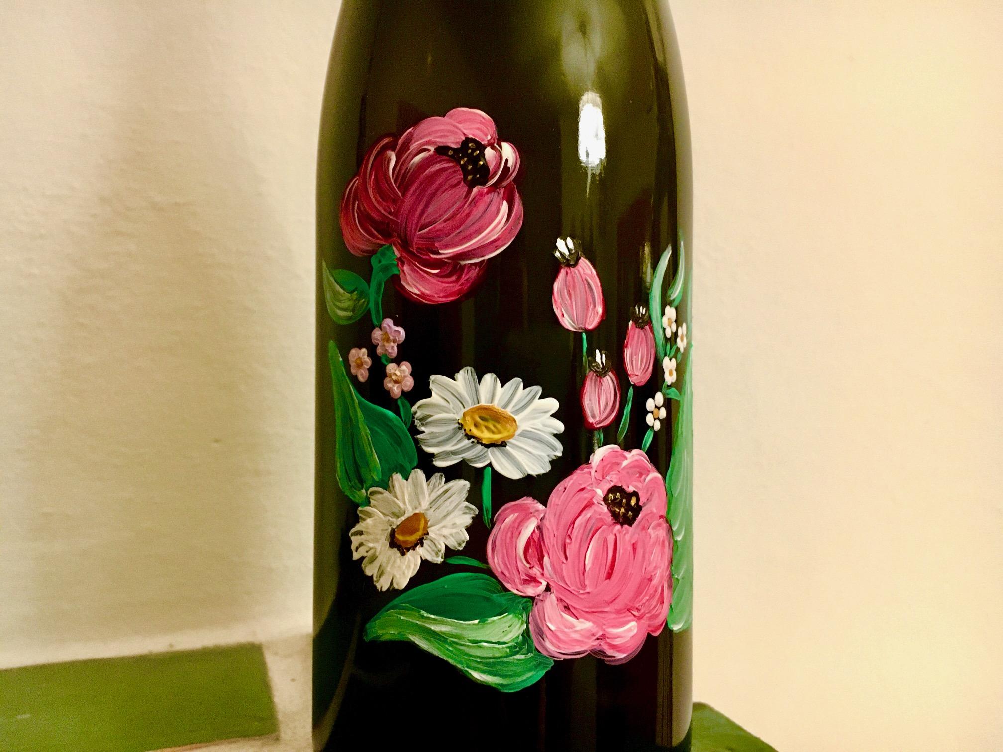 Weinflaschen Verzierung