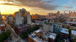 Sunset over Hell's Kitchen