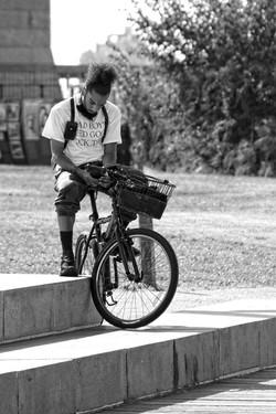 Biker in Brooklyn