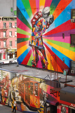 High Line Color Wall