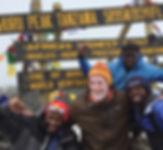 Scott Carde at Kilimangaro, Tanzania