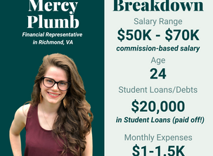 Financial Planning on a Commission-Based Salary - Mercy Plumb