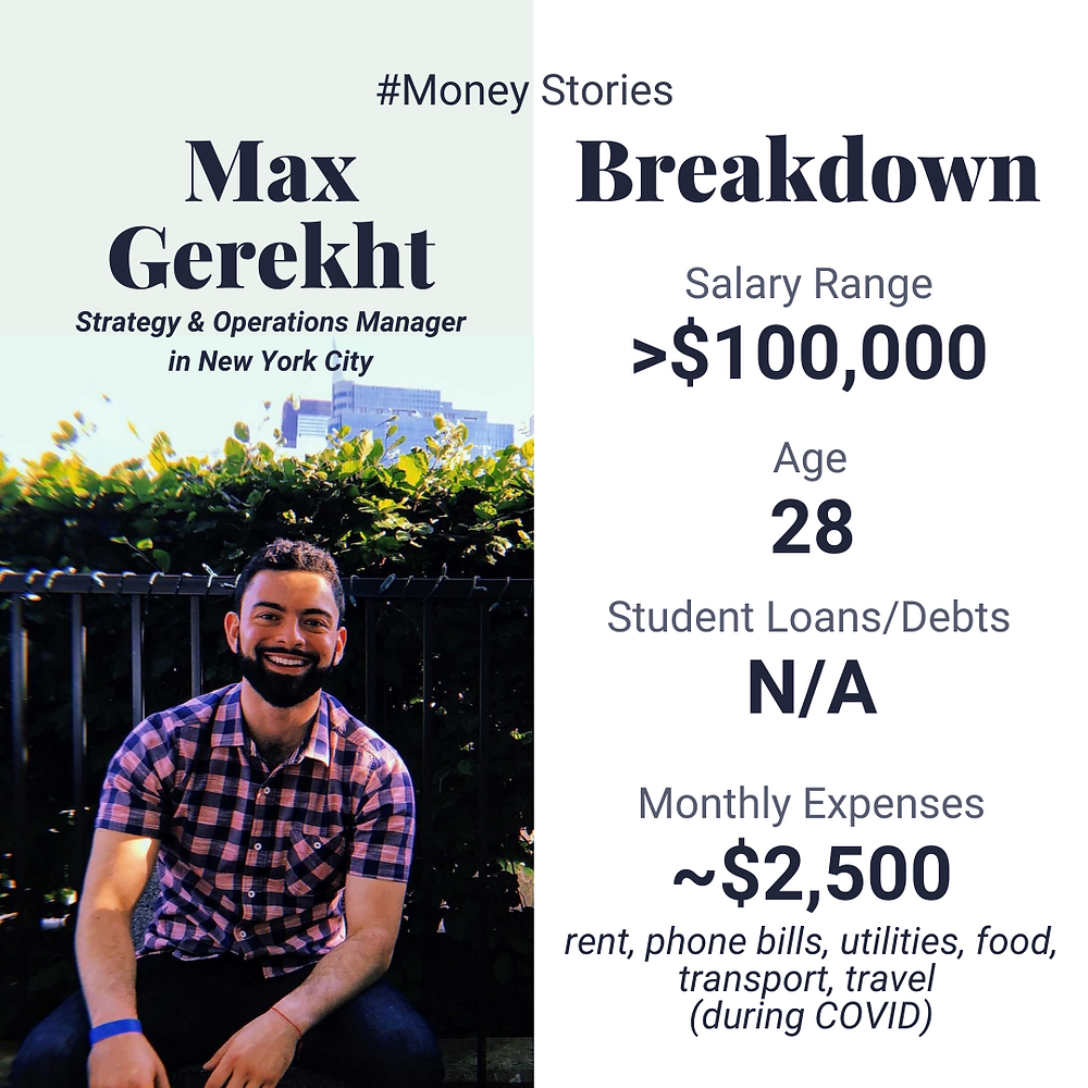 max gerekht money story