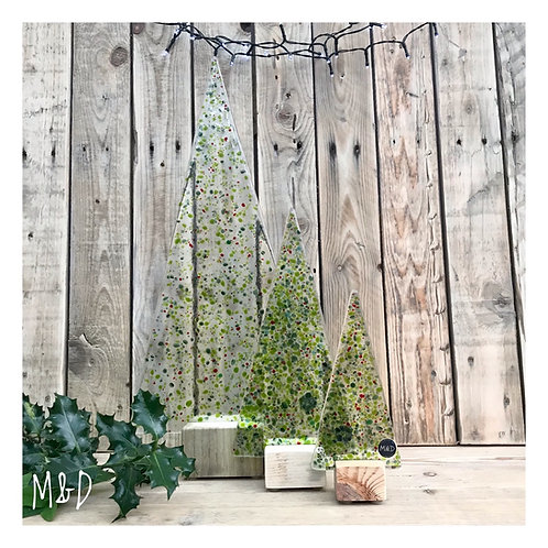 Green & Red Christmas Tree Collection from £8 - £60