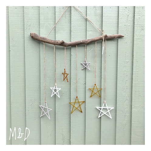 Driftwood Wall Art - Hello Yellow