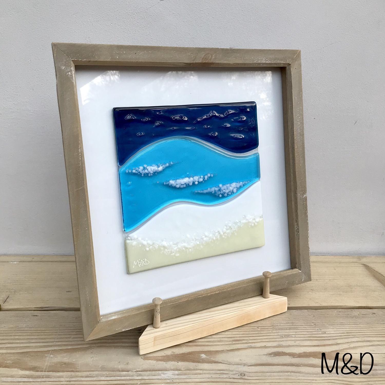Thumbnail: Boxframe Watergate Bay seascape