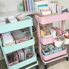 Craft-Room-Organization-Ideas-DIY-Carts.