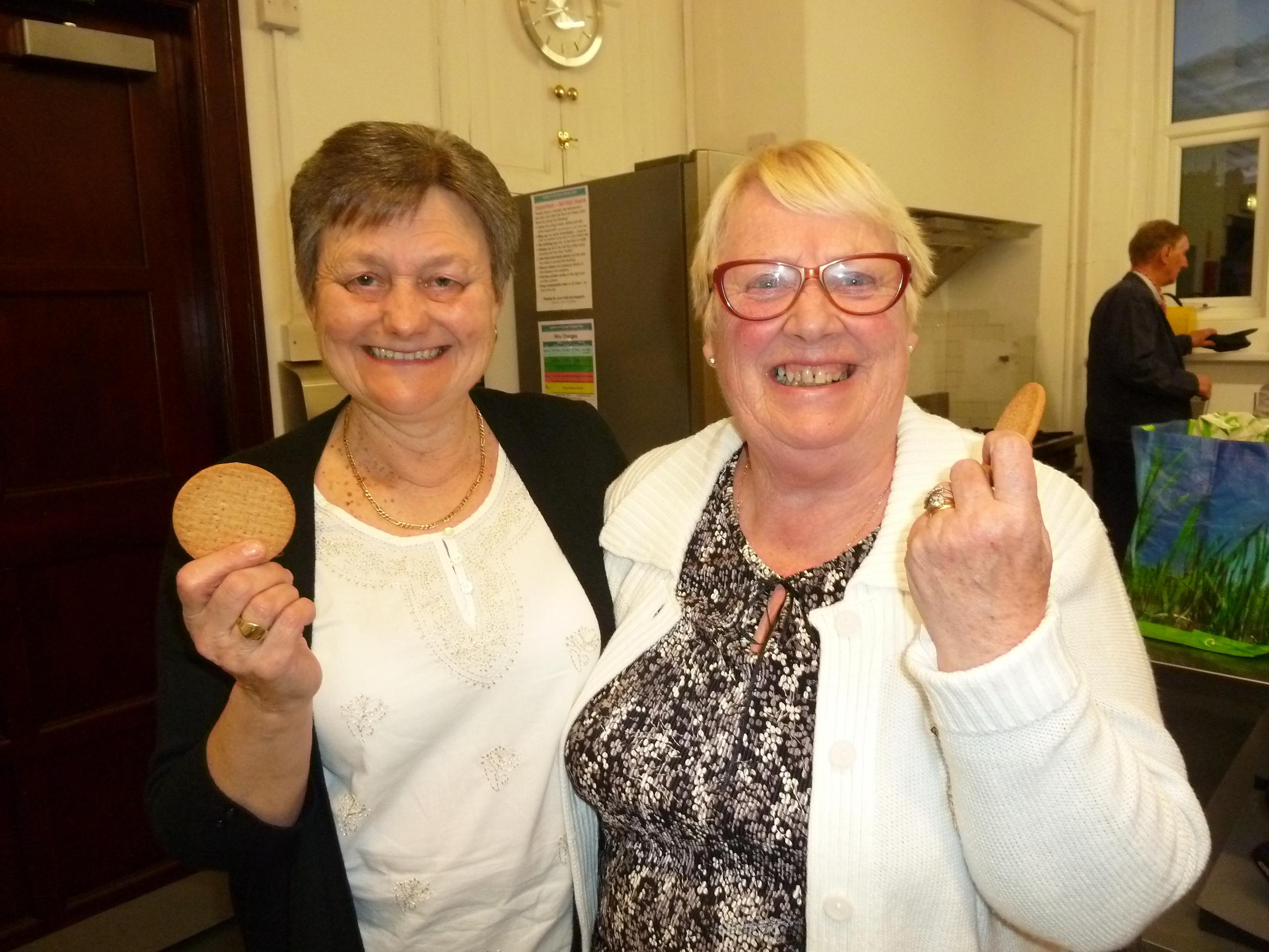 Our wonderful tea ladies
