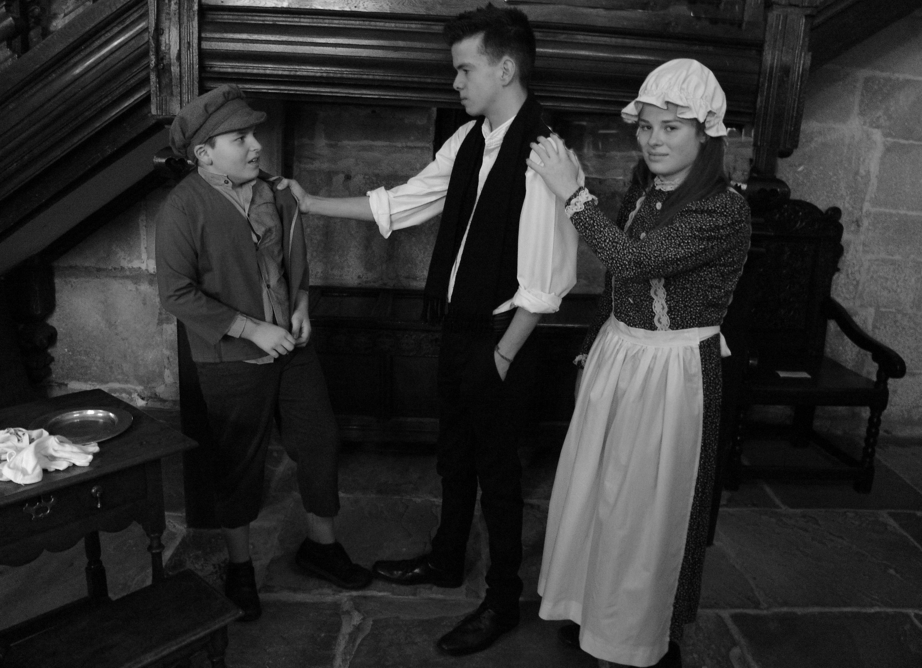 Oliver, Noah Claypole and Charlotte