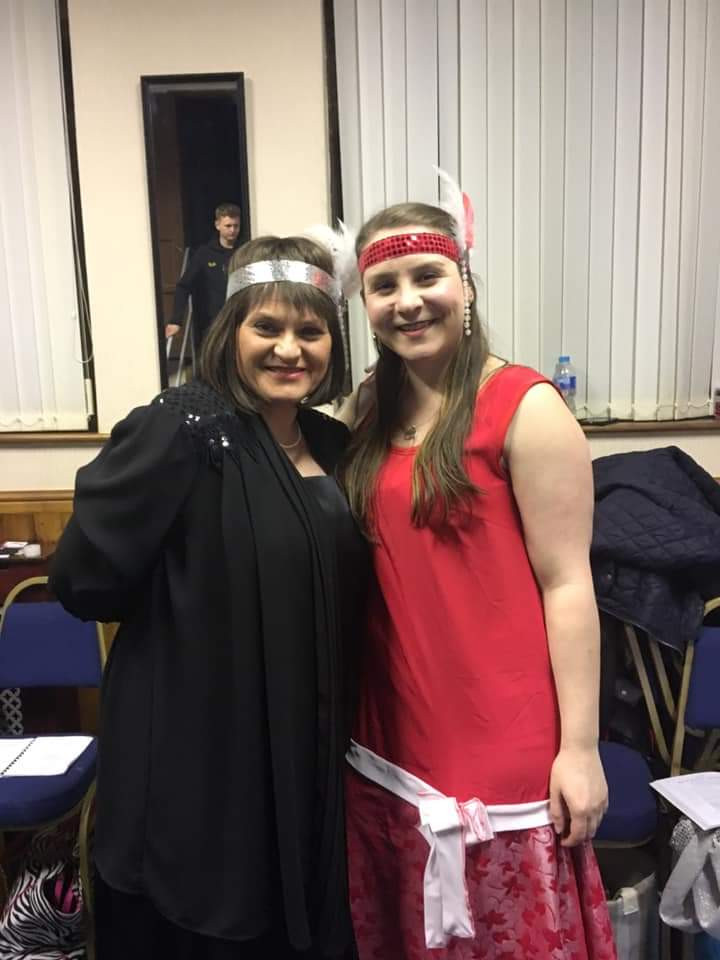 Mrs Harcourt and Erma