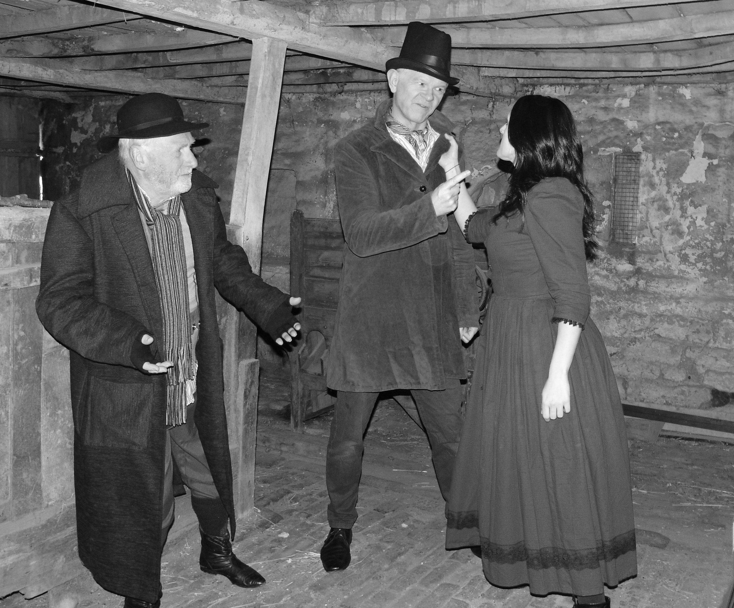 Fagin, Bill Sikes and Nancy