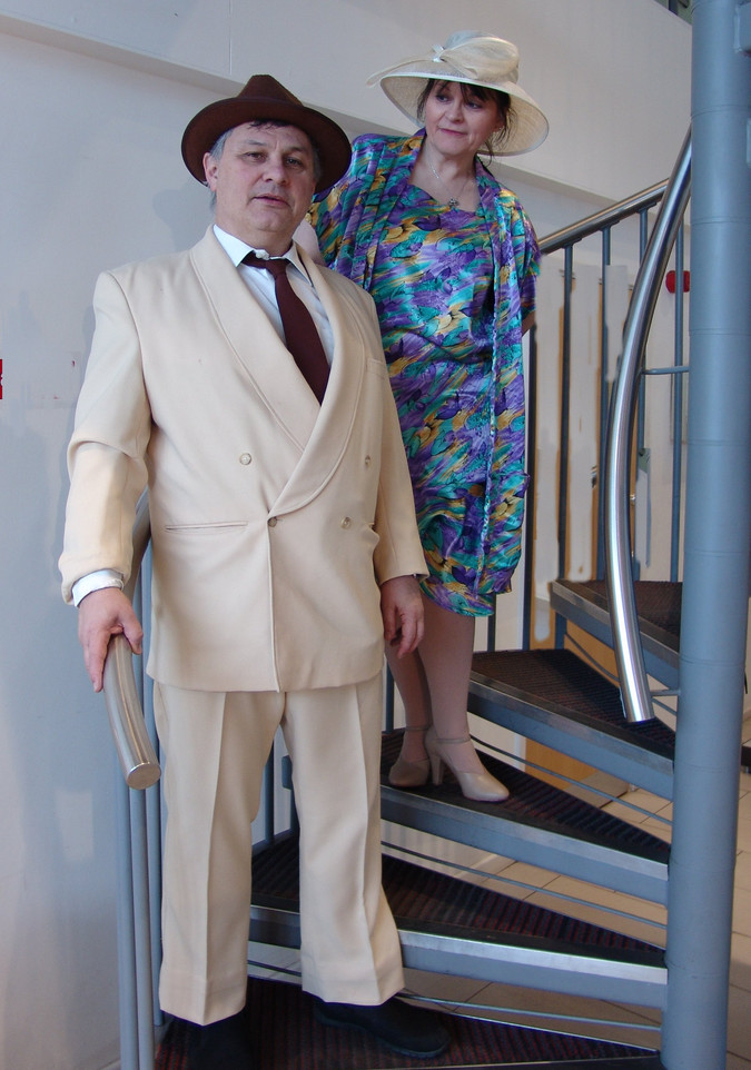 Elijah Whitney and Mrs Harcourt