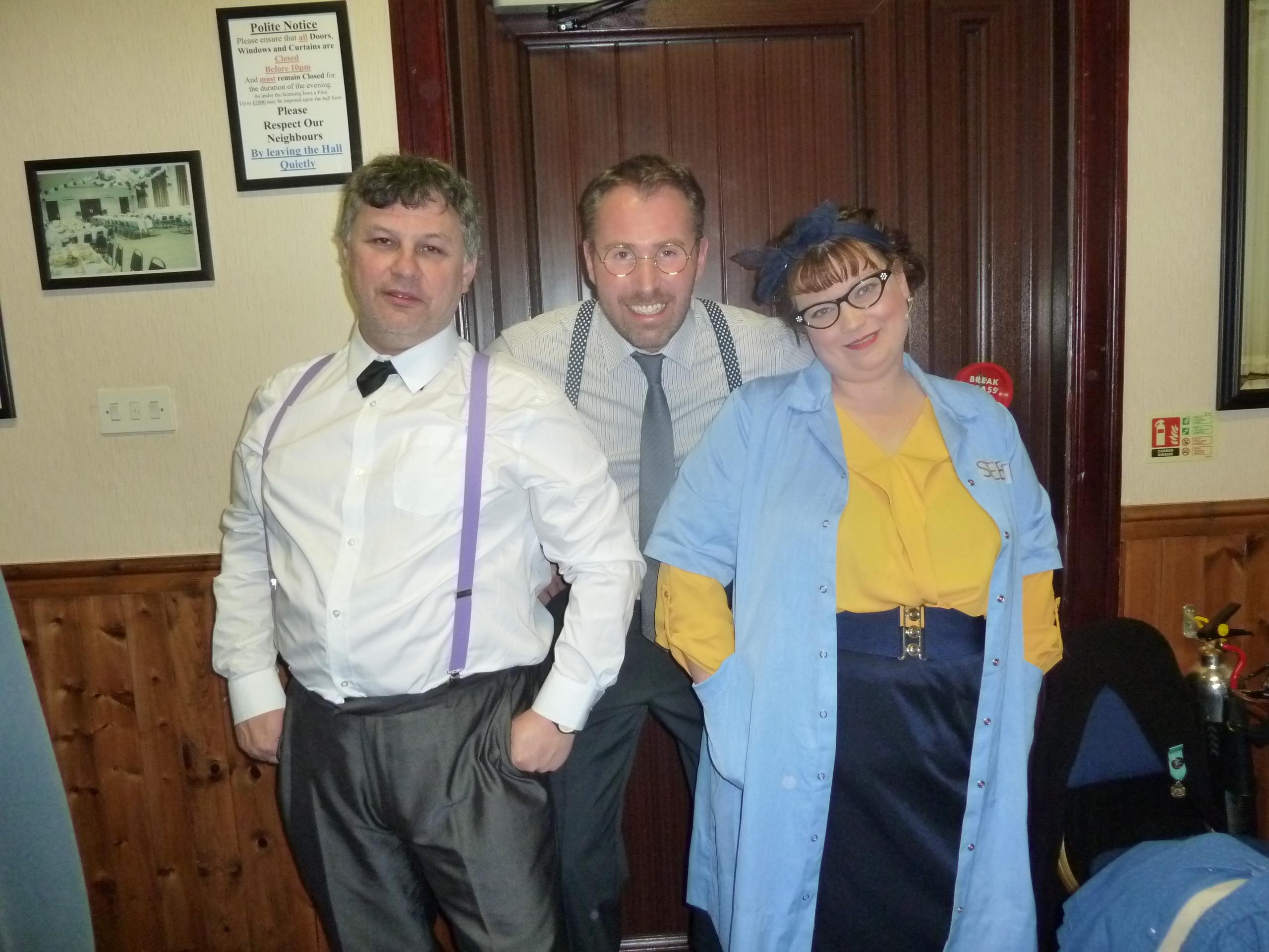 Heinzy, Prez and Mae
