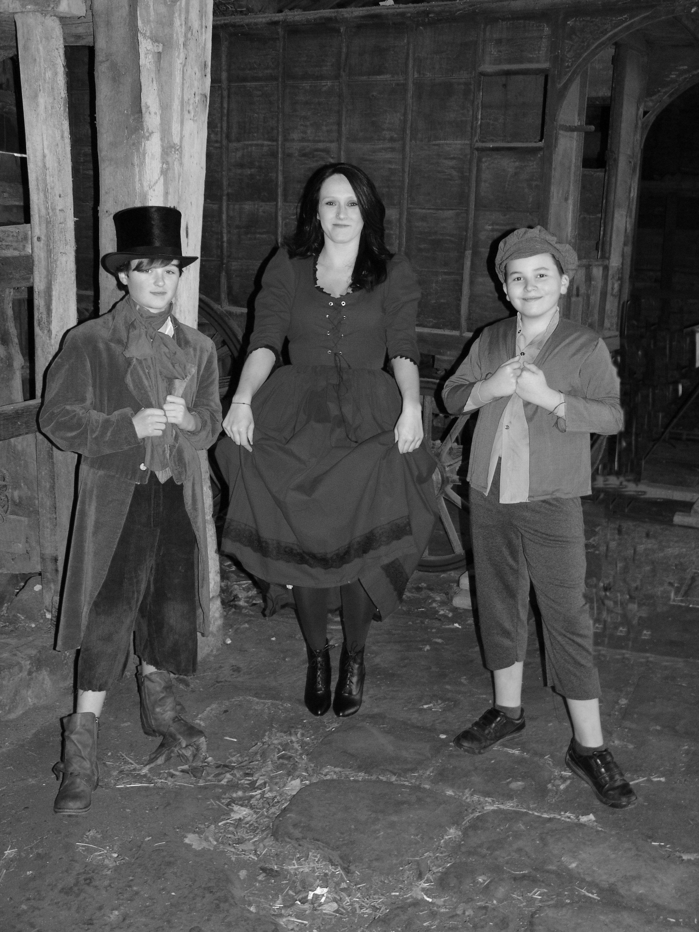 Dodger, Nancy and Oliver