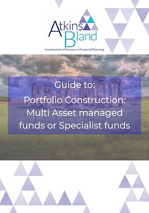 Portfolio Construction - Multi asset man