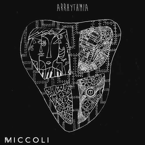 "Debut Album 'Arrhythmia"" CD"