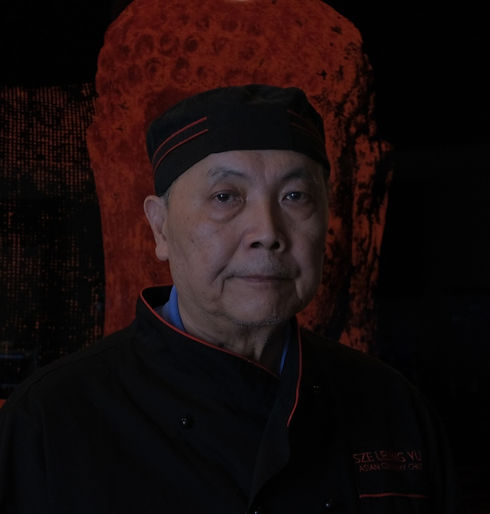 Chef George Yu from Mandalay Asian Fusion Cuisine Chinese Restaurant in High Point, North Carolina.