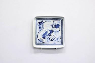 「絵 うつわ」_夏にみた古伊万里の窓絵皿をみたとき、「絵だ」と思いました。それか
