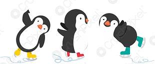 happy-penguin-ice-skates-cartoon-2865224