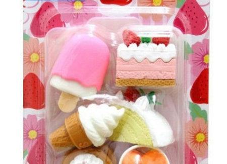 Iwako Eraser Set: Dessert