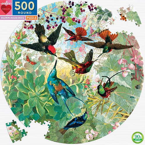 Hummingbirds 500 Piece Puzzle