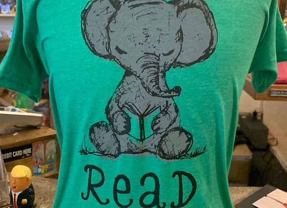 Read Elephant Kids T-Shirt