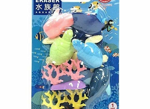Iwako Eraser Set: Coral Reef
