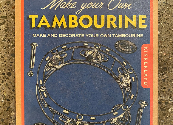 Make Your Own Tambourine