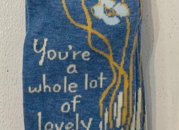 Lovely Socks: Women's Crew