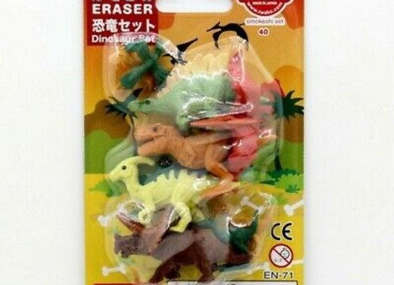 Iwako Eraser Set: Dinosaurs 1