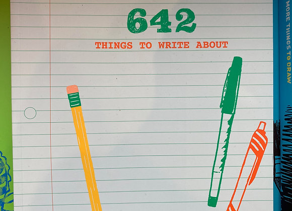 642 Things to Write About - Young Writer's Edition