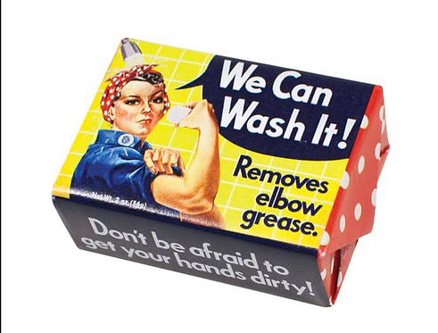 We Can Wash It Soap