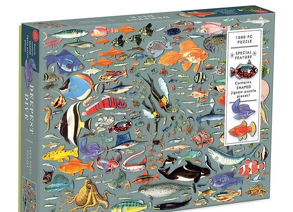 Deepest Dive 1000 Piece Puzzle