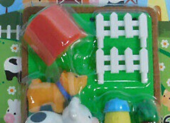 Iwako Eraser Set: Farm