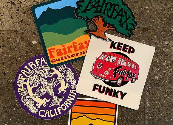 Fairfax Pride Sticker Pack
